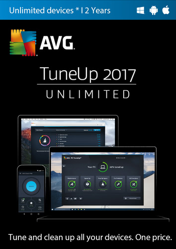 Packaging by TuneUp 2017 Unlimited 1 User / 24 Months [MULTIPLATFORM]