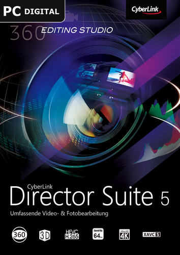 Verpackung von CyberLink Director Suite 5 [PC-Software]