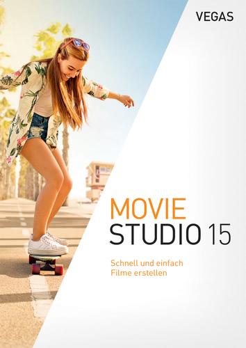 Verpackung von Vegas Movie Studio 15 [PC-Software]
