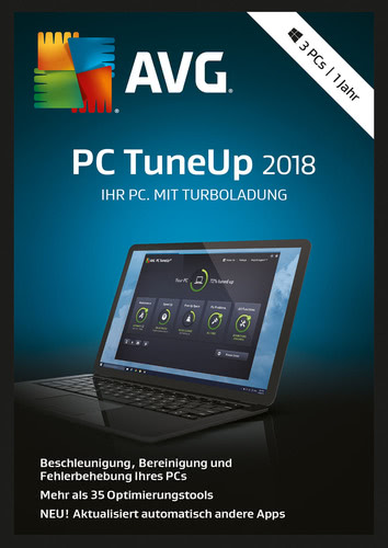 AVG PC TuneUp 2018 3 PC / 12 Monate