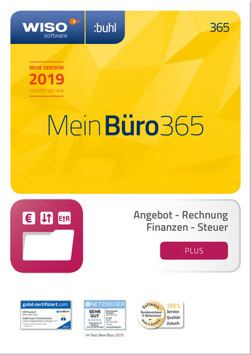 WISO Mein Büro 365 Plus (2019) (Download), PC