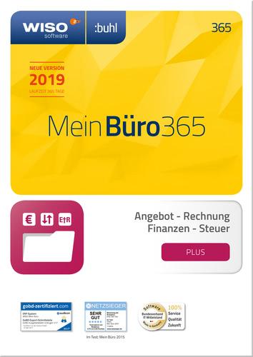 Verpackung von WISO Mein Büro 365 Plus (2019) [PC-Software]