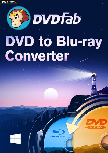 DVDFab DVD to Blu-ray Converter (24 Monate)