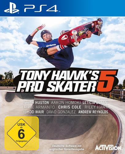 Verpackung von Tony Hawk's Pro Skater 5 [PS4]
