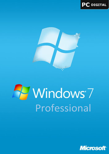 Windows 7 Professional, OEM Key (32/64 Bit) (Download), PC