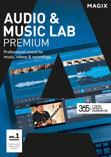 Packaging by Magix Audio & Music Lab Premium (2017) [PC-software]