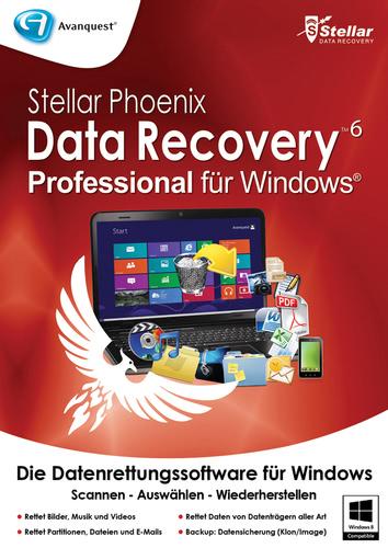 Verpackung von Stellar Phoenix Data Recovery 6 PRO [PC-Software]