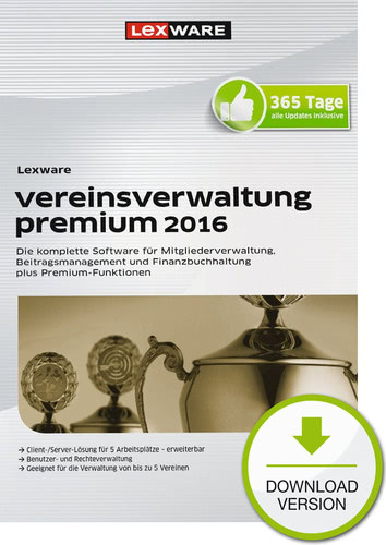 Lexware vereinsverwaltung premium 2016