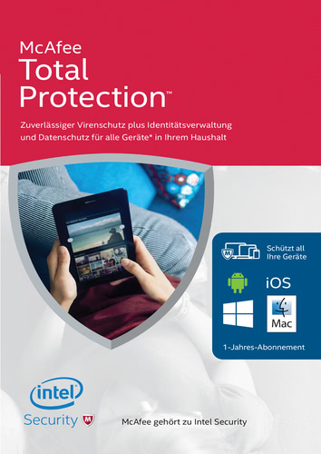 Verpackung von Total Protection 2016 1 User / 12 Monate [PC-Software]