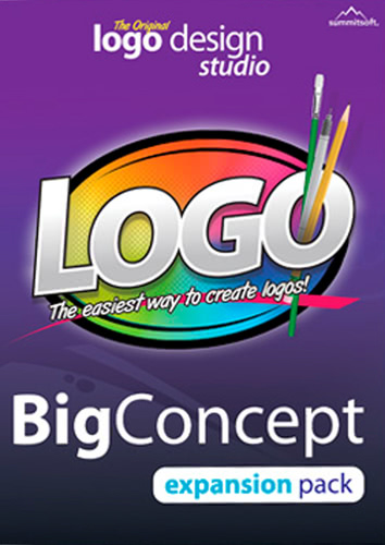 Packaging by Logo Design Studio Expansion Pack: The Big Concept [PC-software]