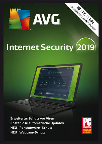 AVG Internet Security (2019) / 1 Jahr (Download), PC