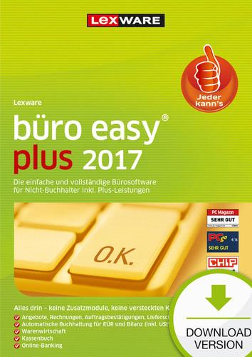 Verpackung von Lexware büro easy plus 2017 Jahresversion (365-Tage) [PC-Software]