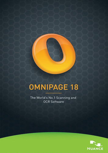 Packaging by Omnipage 18 Standard [PC-software]