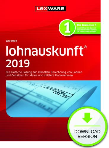 Verpackung von Lexware lohnauskunft netz 2019 [PC-Software]