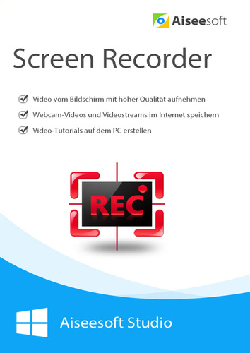 Aiseesoft Screen Recorder – lebenslange Lizenz (Download), PC