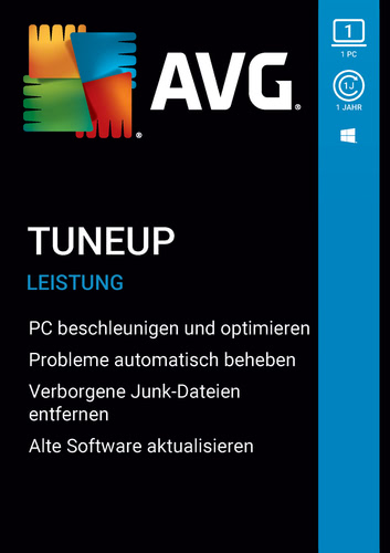 Verpackung von AVG TuneUp 2020 [1 PC / 12 Monate] [PC-Software]