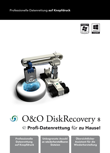 Verpackung von DiskRecovery 8 Professional Edition 3 PC [PC-Software]