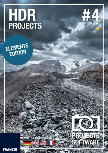 Verpackung von HDR projects 4 elements [PC-Software]