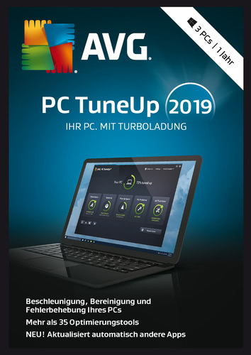 PC TuneUp 20193PC / 12 Monate (Download), PC