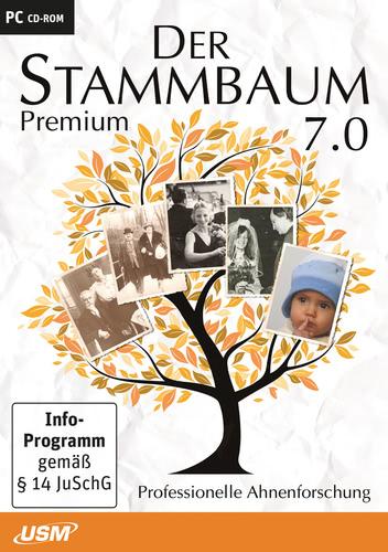 Verpackung von Stammbaum 7.1 Premium [PC-Software]