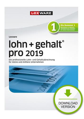 Verpackung von Lexware lohn+gehalt pro 2019 [PC-Software]