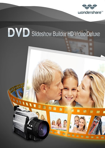 Verpackung von Wondershare DVD Slideshow Builder HD-Video Deluxe - lebenslange Lizenz [PC-Software]