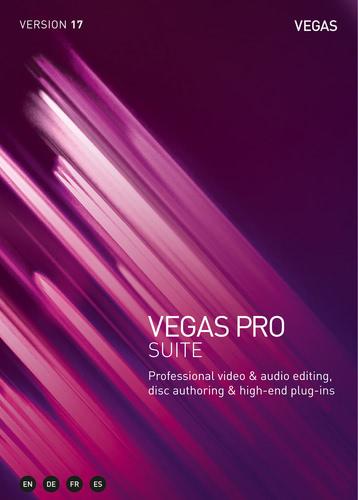Verpackung von Vegas Pro 17 Suite [PC-Software]
