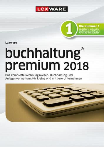 Verpackung von Lexware buchhaltung premium 2018 Jahresversion 365-Tage [PC-Software]
