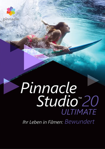 Verpackung von Pinnacle Studio 20 Ultimate [PC-Software]