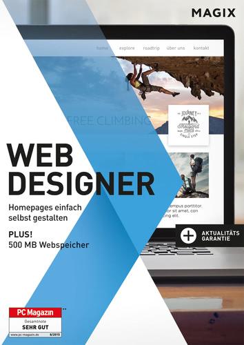 Verpackung von Magix Web Designer 12 [PC-Software]