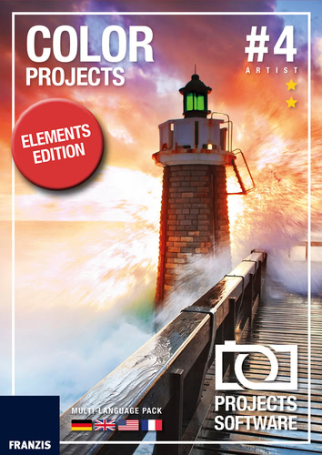 Verpackung von COLOR projects 4 elements [Mac-Software]
