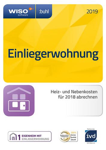 Verpackung von WISO Einliegerwohnung 2019 [PC-Software]