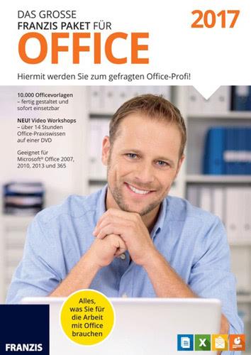 Verpackung von Das große Franzis Paket für Office 2017 [PC-Software]
