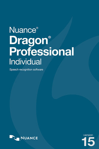 Packaging by Nuance Dragon Professional Individual 15 [PC-software]