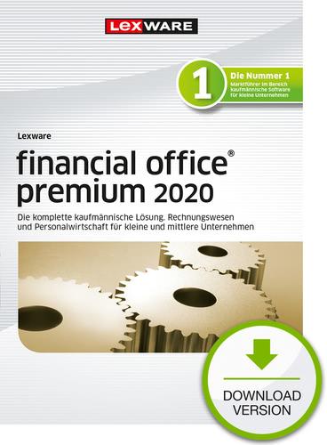 Verpackung von Lexware financial office 2020 premium - Jahresversion (365-Tage) [PC-Software]