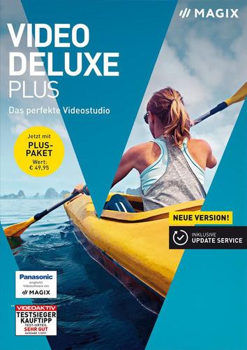 Verpackung von Magix Video Deluxe Plus (2018) [PC-Software]