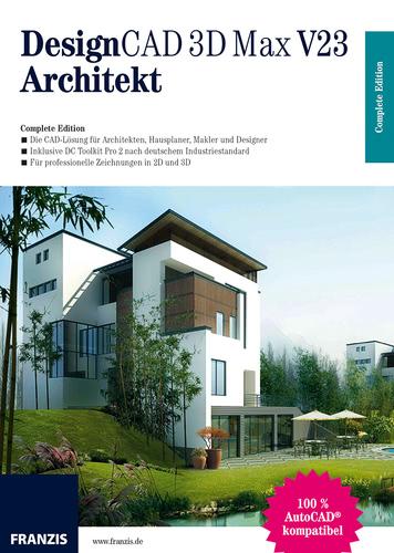 Verpackung von DesignCAD 3D Max V23 Architektur [PC-Software]