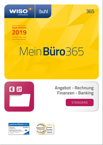 WISO Mein Büro 365 Standard (2019) (Download), PC