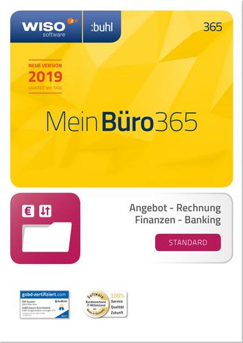 Verpackung von WISO Mein Büro 365 Standard (2019) [PC-Software]