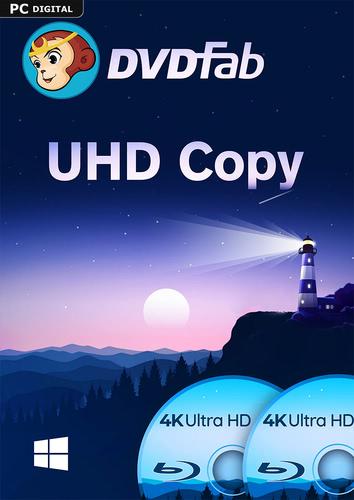 Verpackung von DVDFab UHD Copy (24 Monate) [PC-Software]