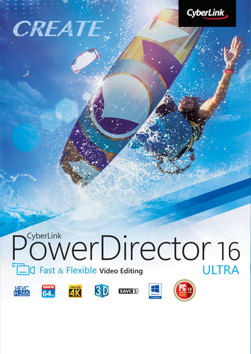 Packaging by CyberLink PowerDirector 16 Ultra [PC-software]