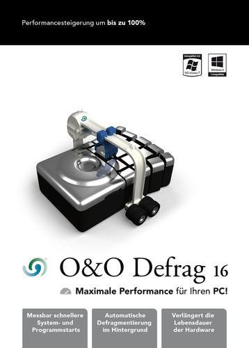 Verpackung von Defrag 16 Professional Edition 3 PC [PC-Software]