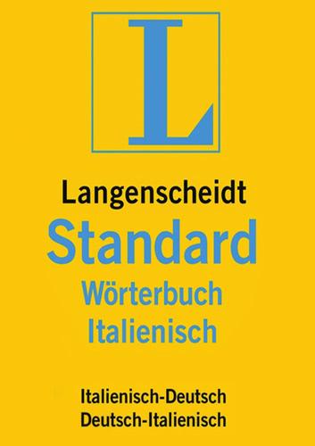 Verpackung von Langenscheidt Standard-Wörterbuch Italienisch [PC-Software]