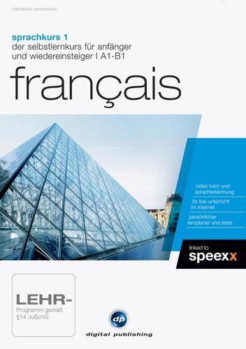 Verpackung von Sprachkurs 1 Français [PC-Software]