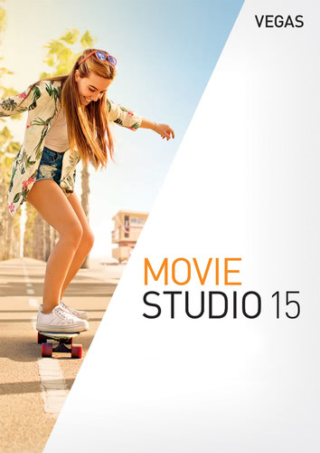 Packaging by Vegas Movie Studio 15 [PC-software]