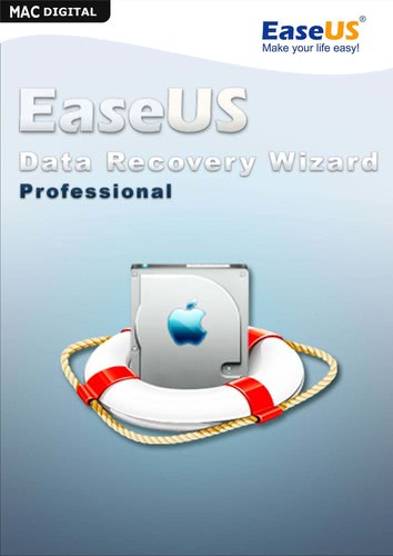 Verpackung von EaseUS Data Recovery Wizard PRO 12.0 [Mac-Software]