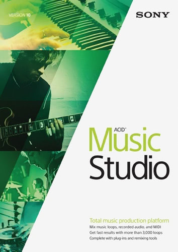 Packaging by Sony ACID Music Studio 10 [PC-software]
