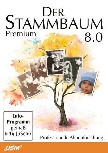 Stammbaum 8 Premium, ESD (Download) (PC)