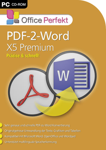 PDF-2-Word X5 Premium (Download), PC