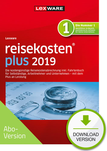 reisekosten plus 2019 Download – Abo Version (Download), PC